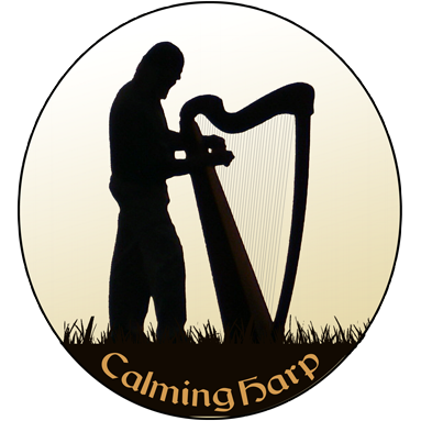 Calming Harp Logo