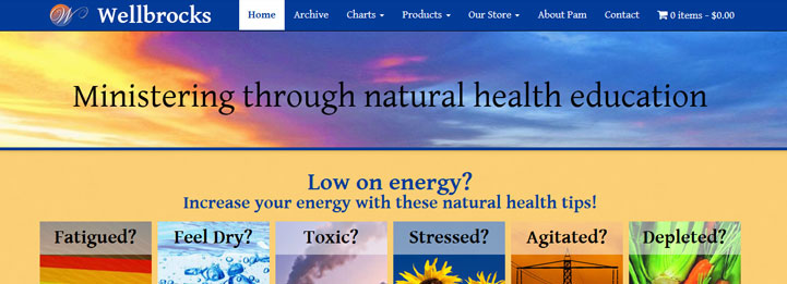 Wellbrocks: Ministering through natural health education