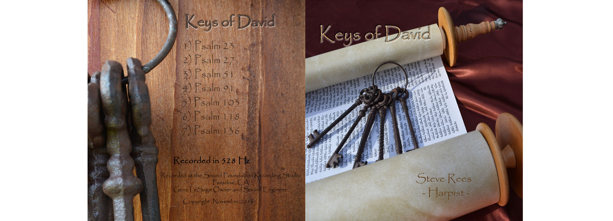 Keys of David by Steve Rees