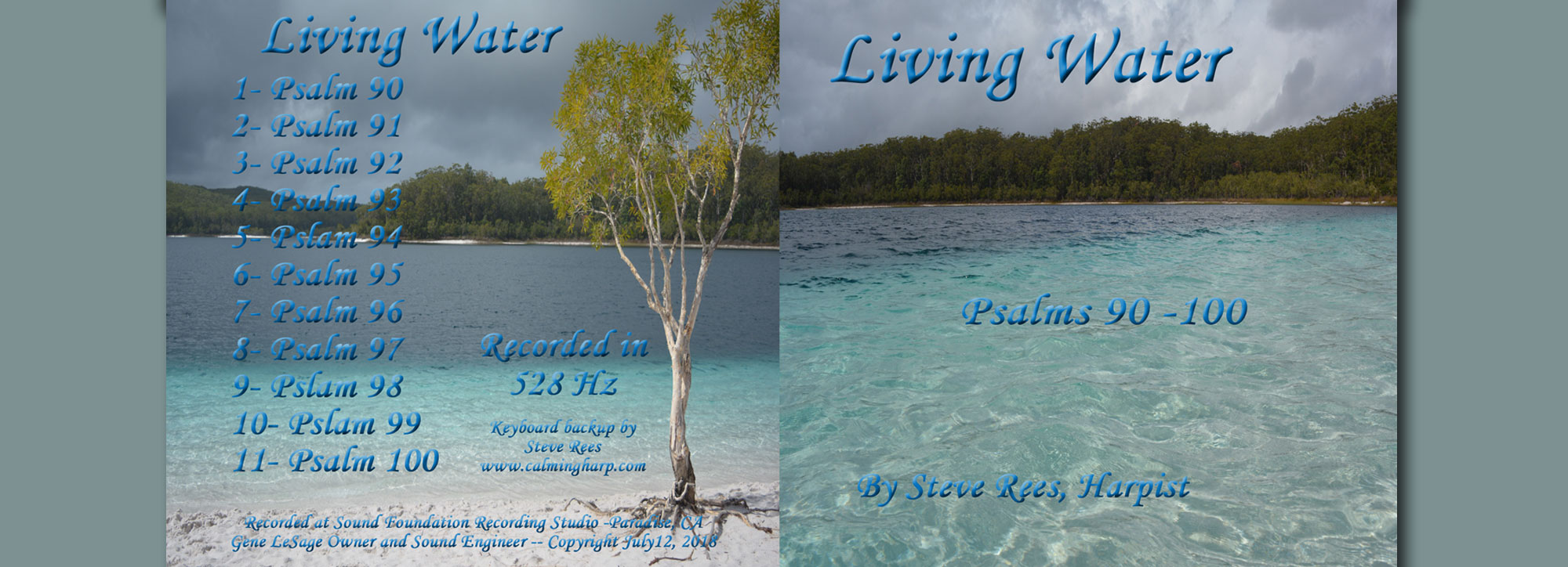 New CD Available U2013 Living Water
